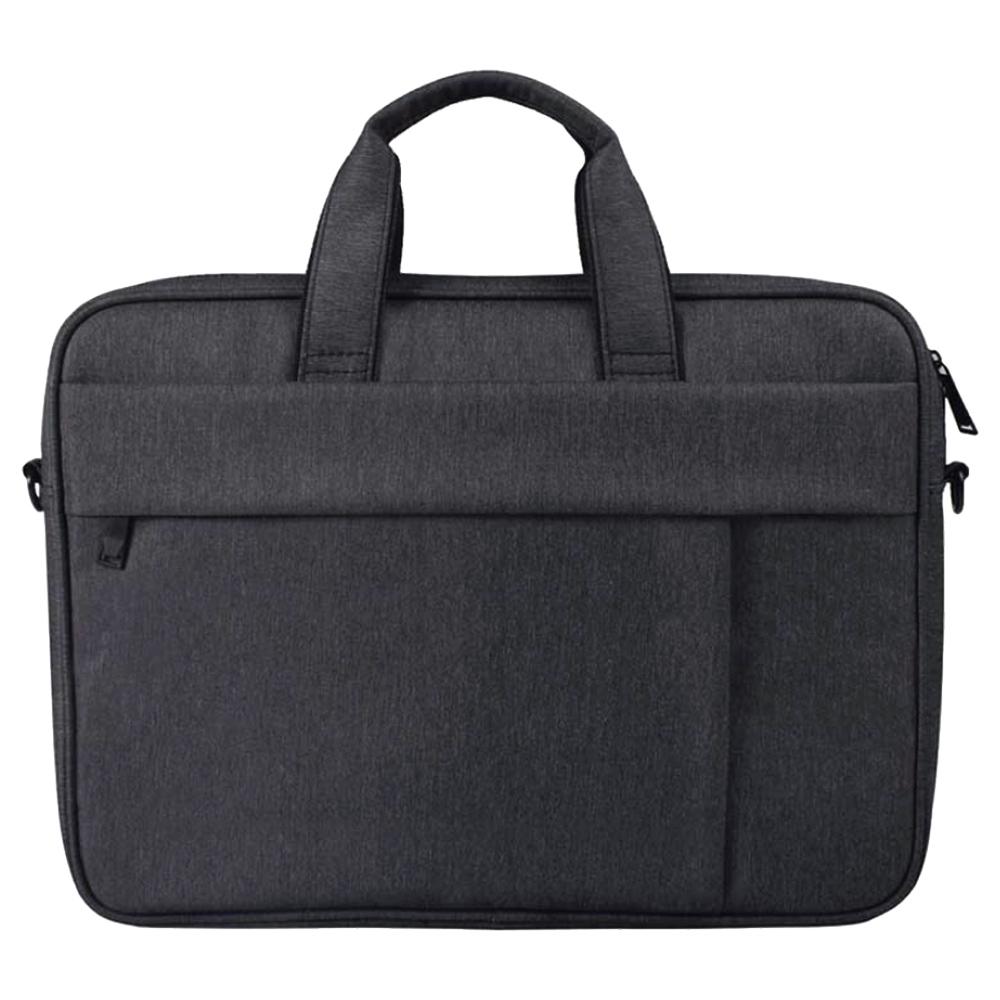 플럭스 투라인 크로스백 노트북 가방, 챠콜 블랙, 15in