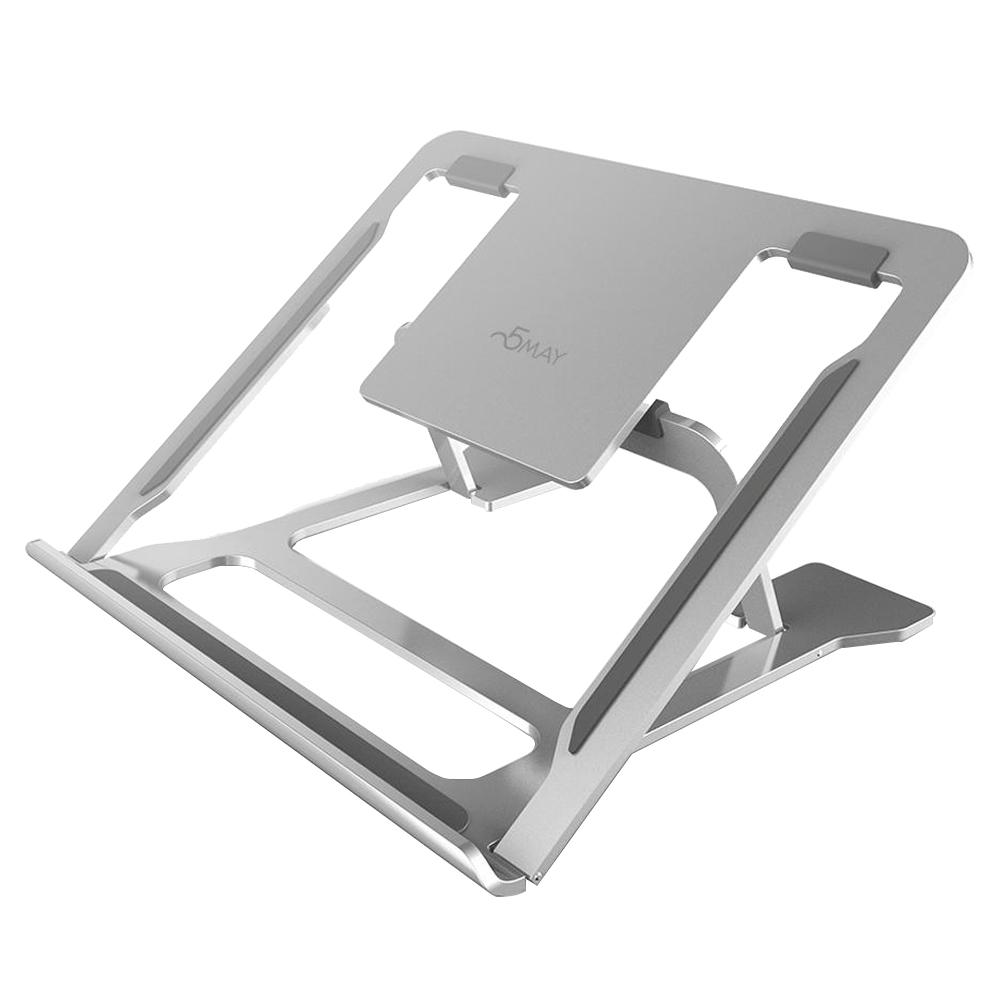 오메이 알루미늄 접이식 노트북 거치대 ALS100, 실버