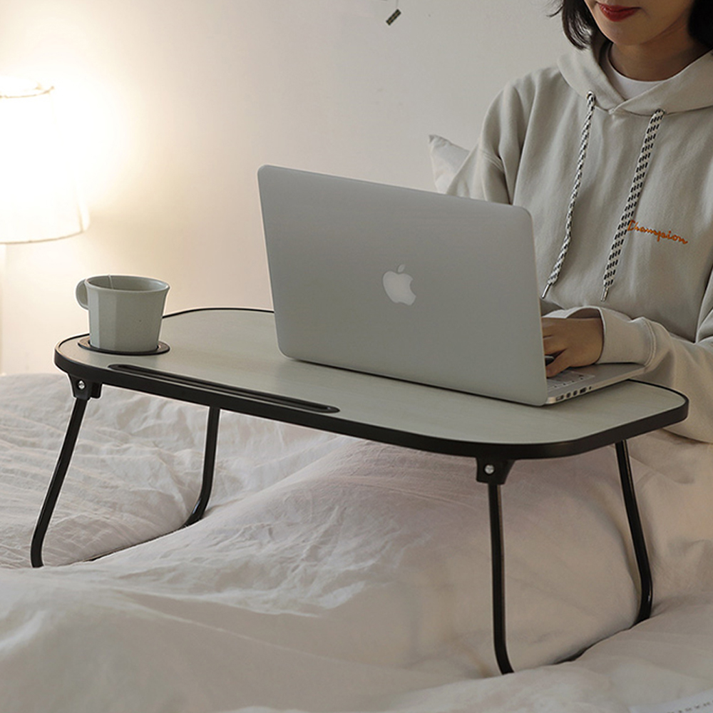 룸앤홈 스마트 폴딩 테이블, 블랙
