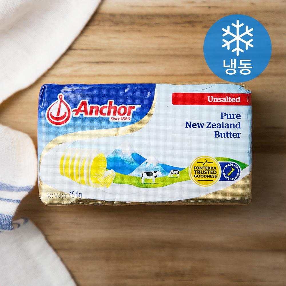 앵커 버터 무가염 (냉동), 454g, 1개