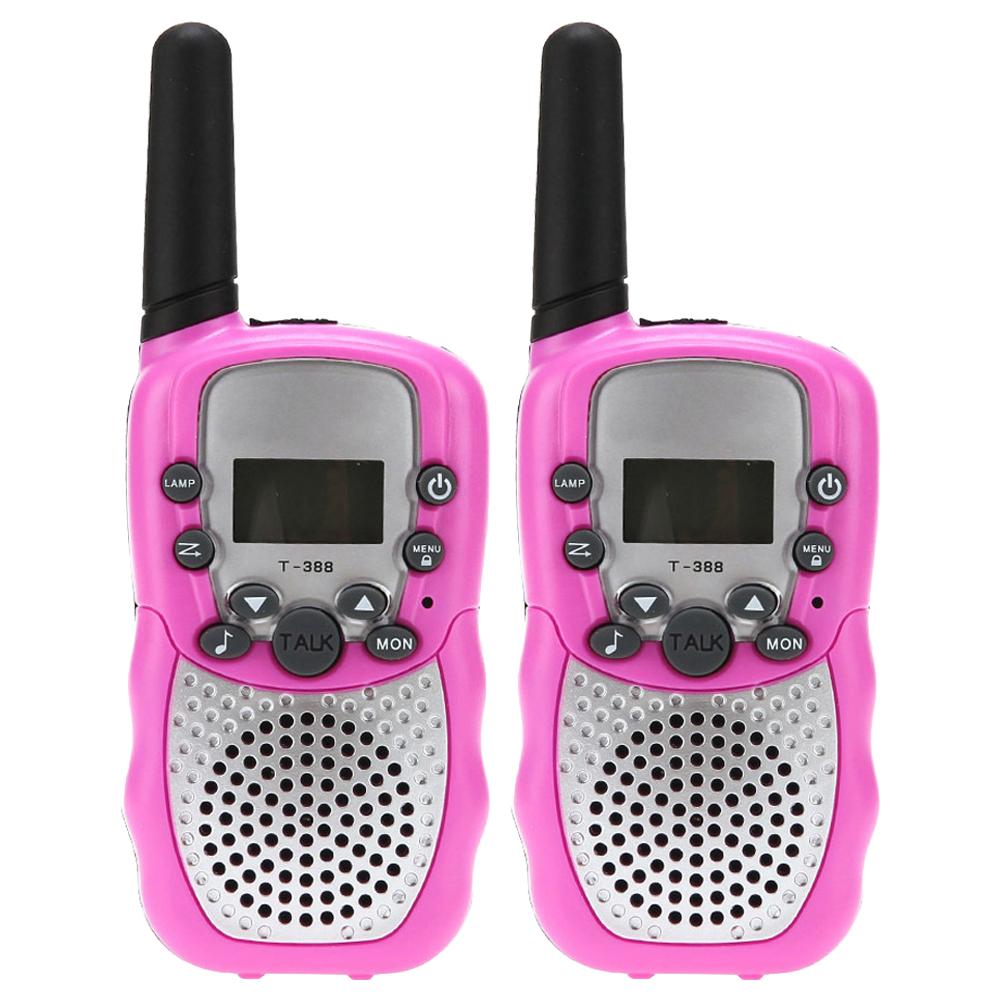 쵸미앤세븐 생활무전기 walkie-talkie 2p, walkie-talkie(핑크)