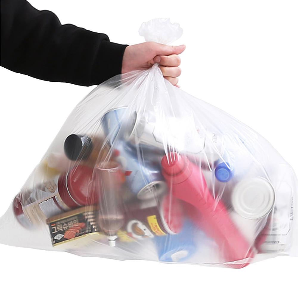 네이쳐리빙 모던데일 분리수거함 비닐봉투, 40L, 100개