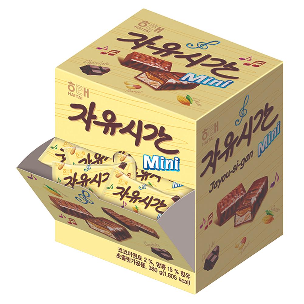 자유시간 mini 초콜릿 38p, 380g, 1개
