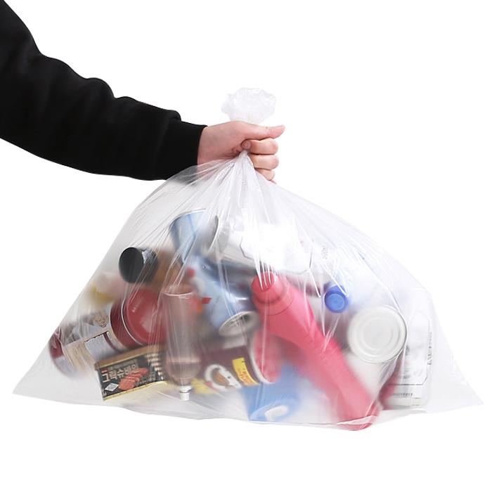 네이쳐리빙 모던데일 분리수거함 비닐봉투, 27L, 100매