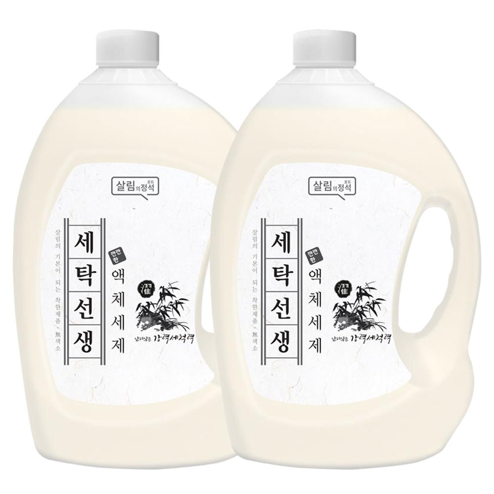 아토세이프 세탁선생 액체세제 본품 31L 2개입
