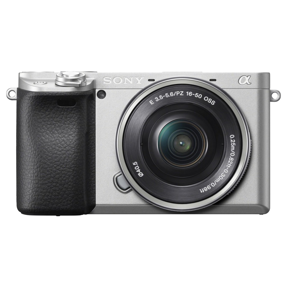 소니 알파 A6400L 미러리스카메라 실버 SELP1650 렌즈킷, ILCE-6400