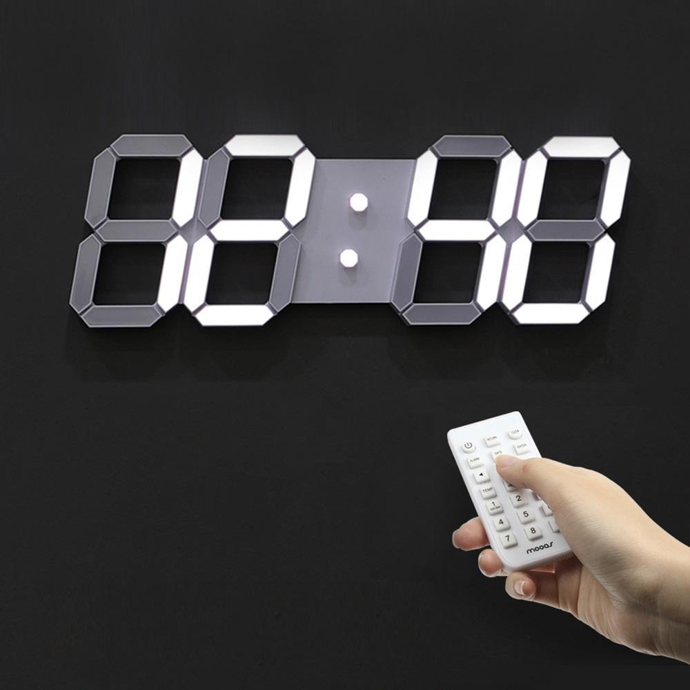 무아스 3D LED벽시계 빅플러스 WB2 단일 색상