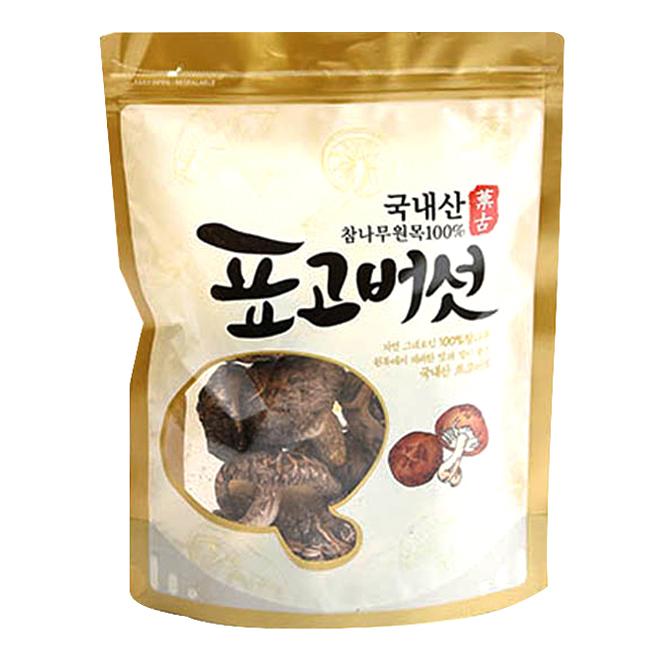 산천농원 참나무 원목 표고버섯, 100g, 1개