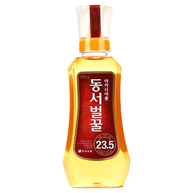동서 아카시아 꿀 튜브, 600g, 1개