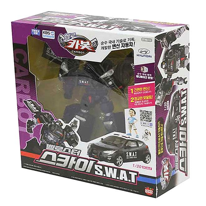 헬로카봇 벨로스터 스카이 SWAT, 혼합 색상