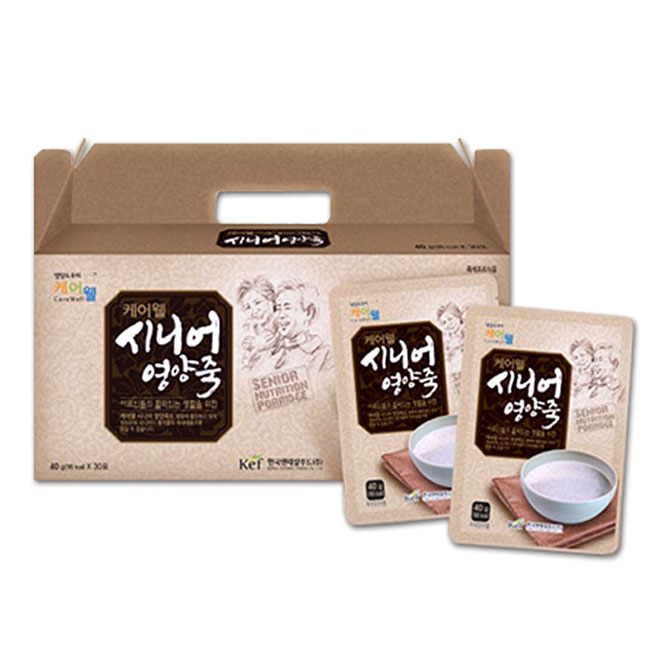 케어웰 시니어영양죽, 40g, 30개입