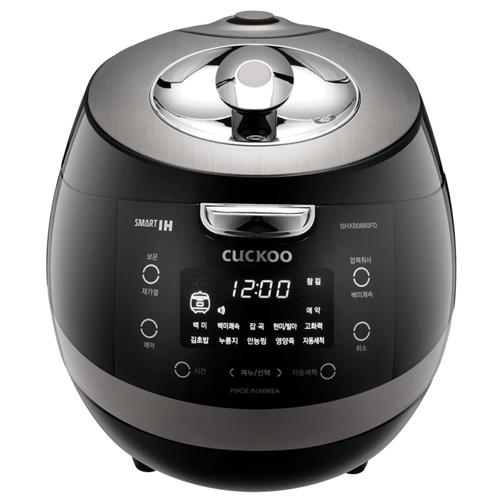 쿠쿠 IH압력밥솥 6인용, CRP-BHXB0660FD