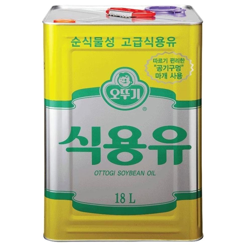 오뚜기 콩기름, 18L, 1개