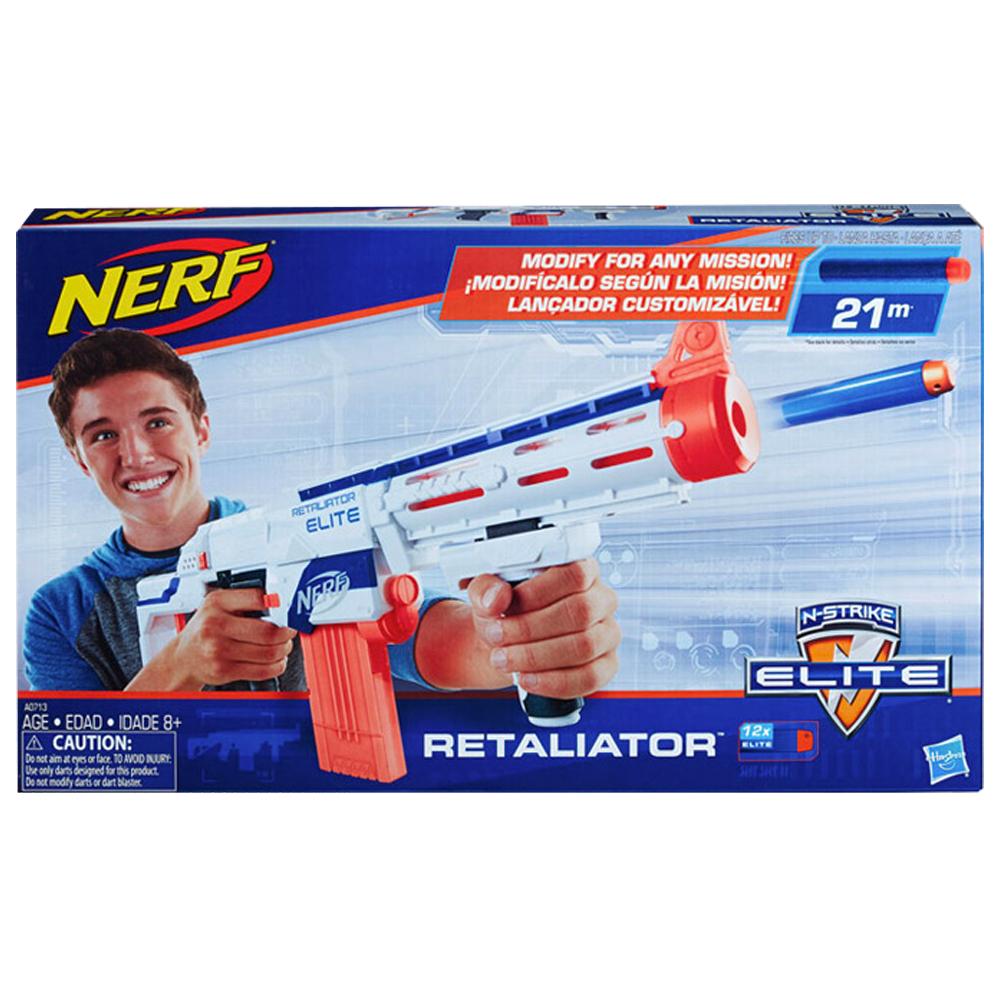 너프 엘리트 리텔리에이터 장난감총, 파란색 외