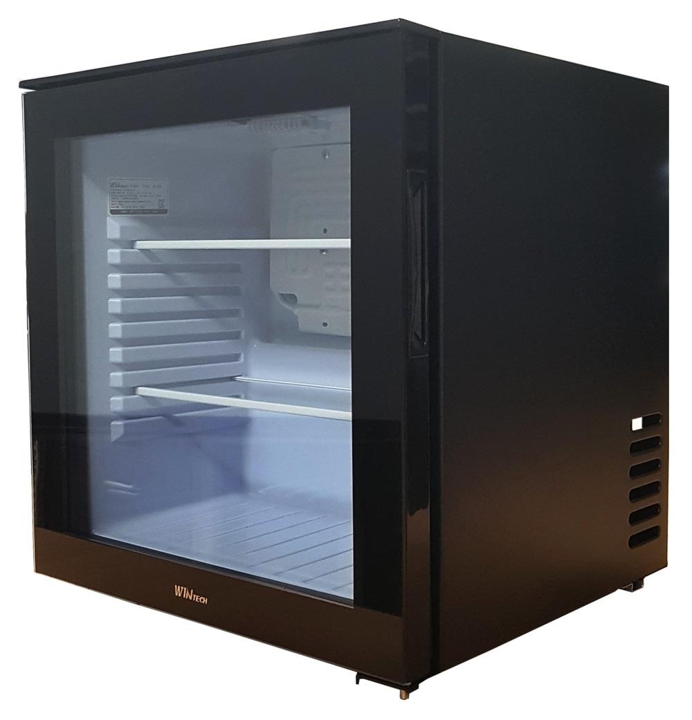 윈텍 다용도 미니 쇼케이스 냉장고 블랙 자가설치, XC-25D