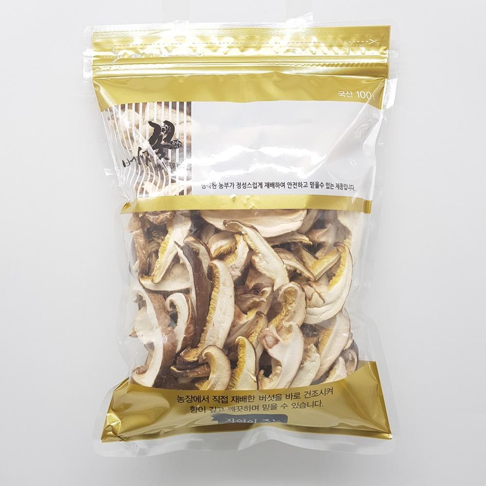 버섯꽃필때 건표고버섯표고채, 100g, 1개