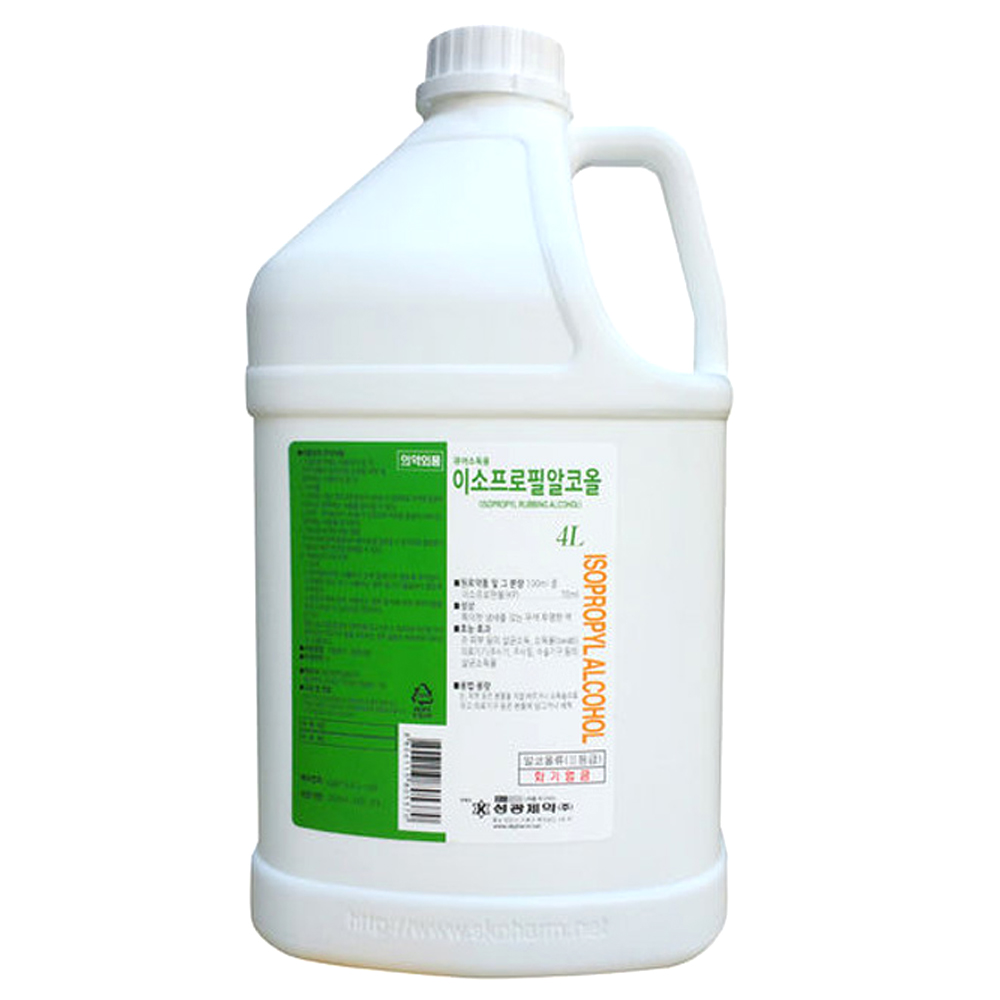 성광제약 이소프로필알콜 4L, 1개