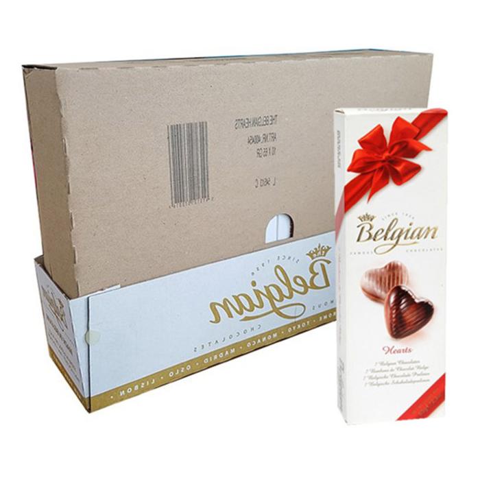 벨지안 하트 초콜릿, 65g, 10개입