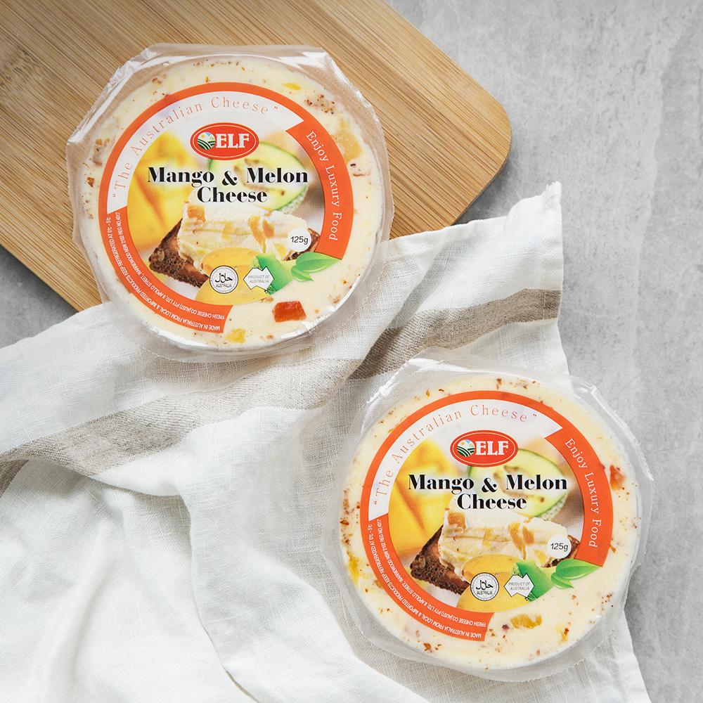 ELF 망고 앤 멜론 과일 치즈, 125g, 2개