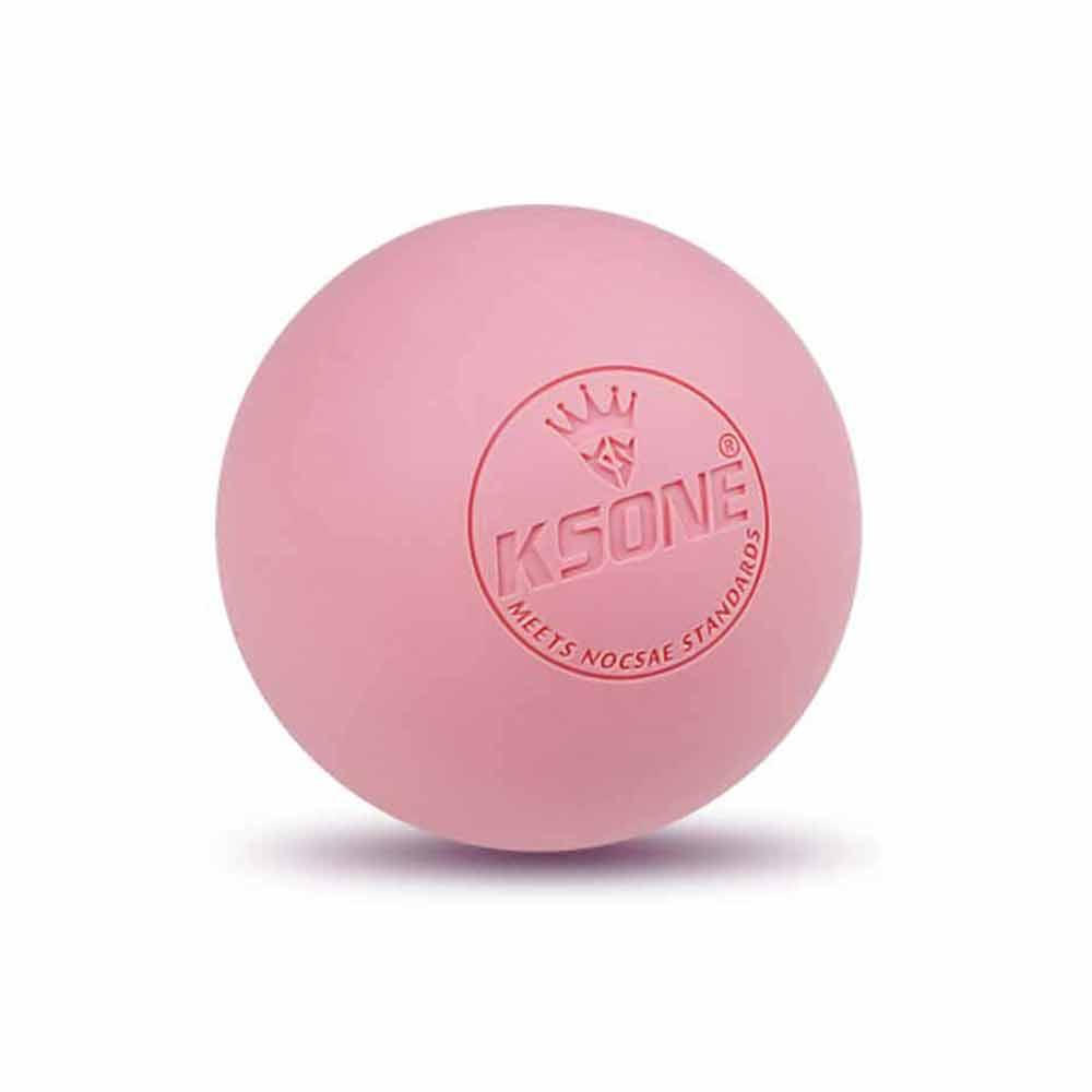 웰블러썸 라크로스 마사지볼, 핑크, 1개