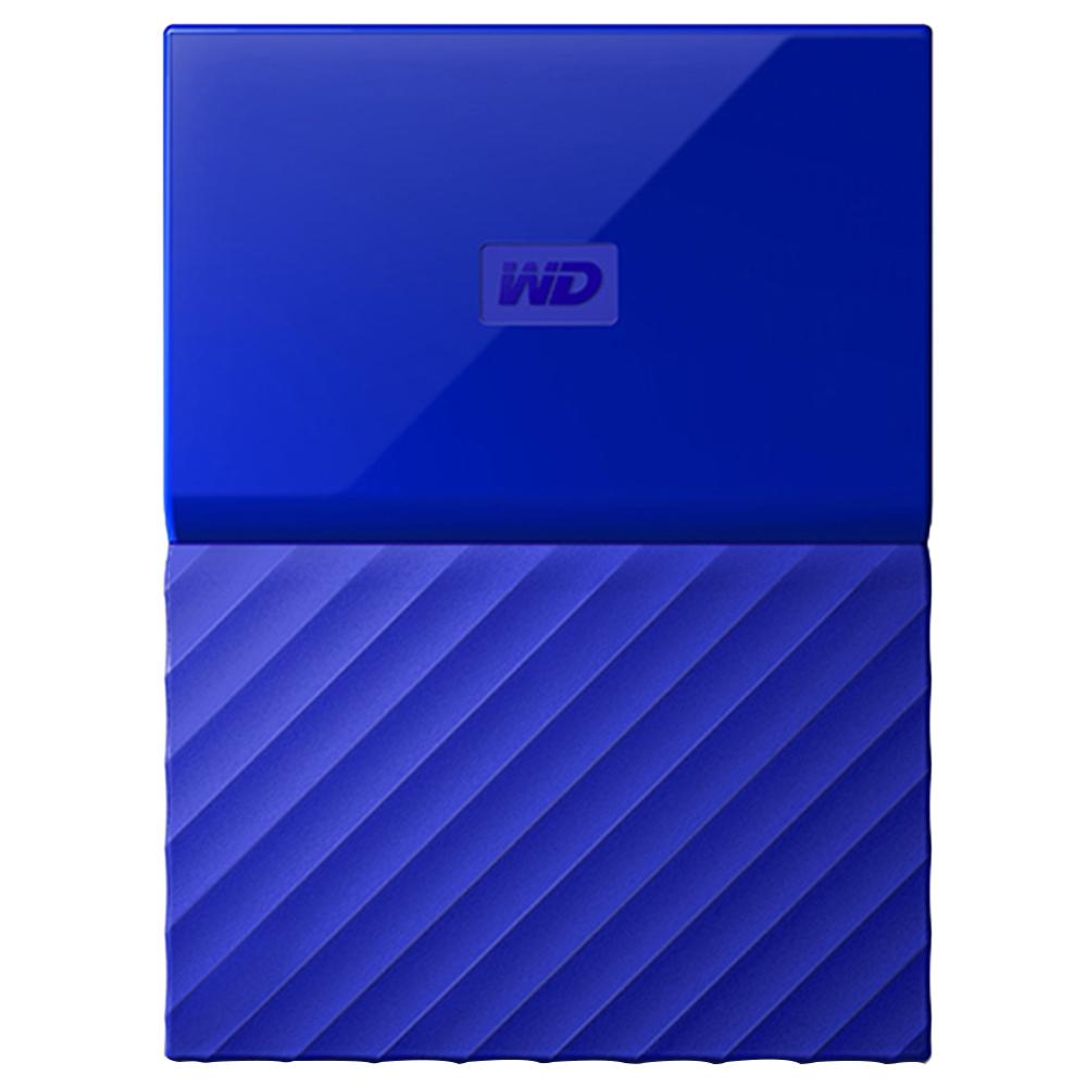 WD My Passport 휴대용 외장하드, 1TB, 블루