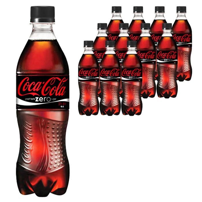 코카콜라음료 코카콜라 제로 500ml PET, 12개