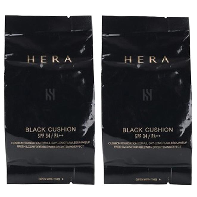 헤라 블랙 쿠션 리필 15g, 21호 바닐라, 2개입