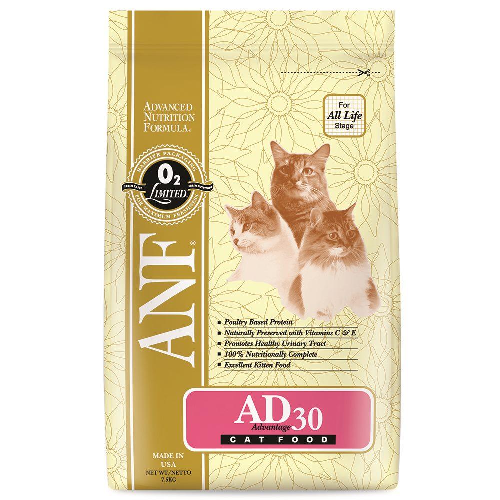 ANF AD 30 캣 7.5kg 고양이 사료 건식사료, 1개