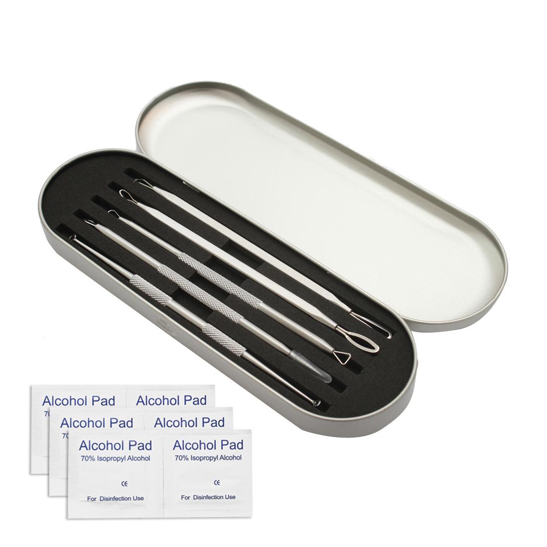 이프리트 피지제거기 10종 + 알콜솜 6매 세트, 여드름압출기 10종SET, 1개