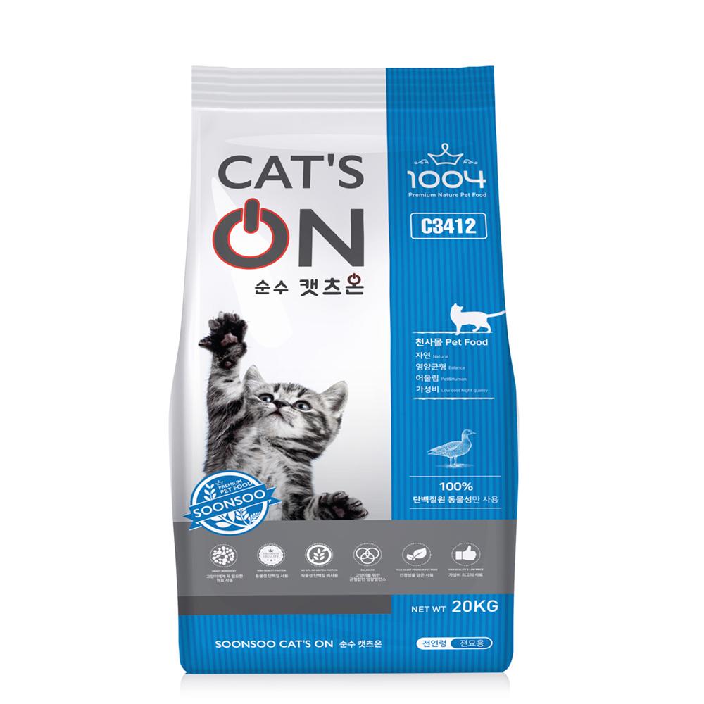 팜스코 캣츠온 고양이사료, 20kg, 1개