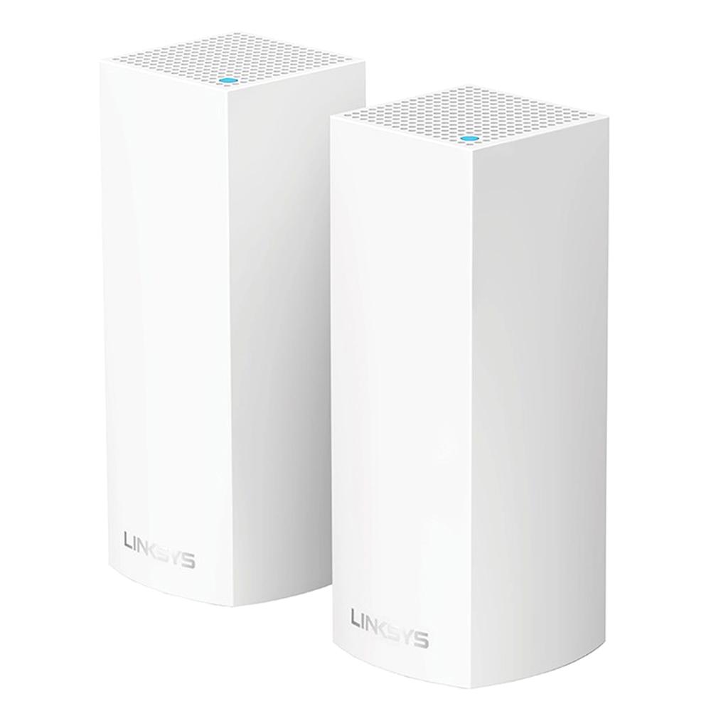 링크시스 벨롭 메시 Wi-Fi 트라이밴드 기가비트 와이파이 AC4400 유무선공유기 2p, WHW0302