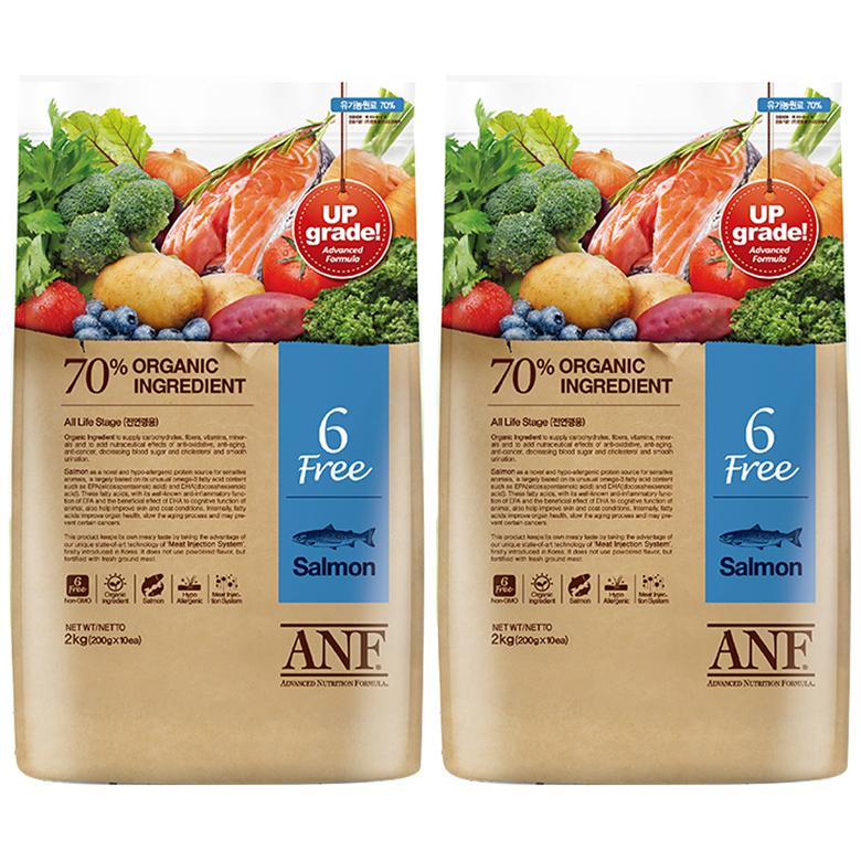 ANF유기농6Free연어_2kgx2, 2kg, 2개