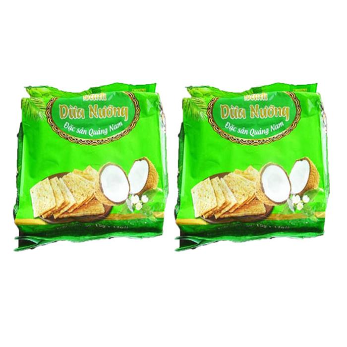 베트남 다낭 코코넛 과자, 180g, 2개