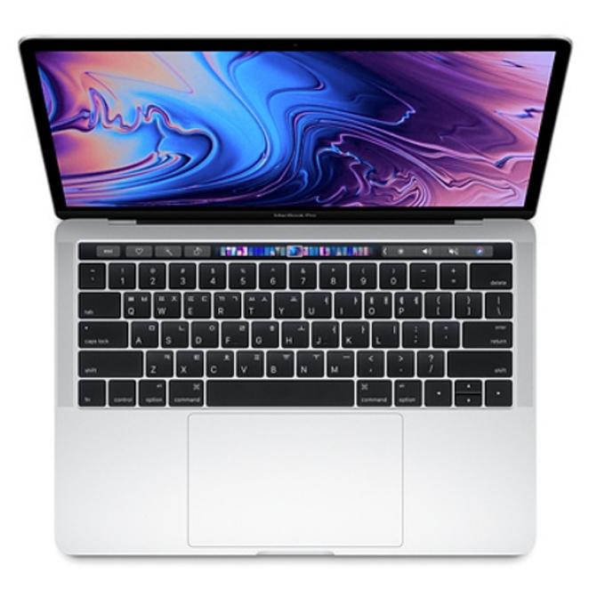 Apple 2019년 맥북 프로 터치바 13 8세대 MV992KH/A (i5-2.4GHz quad-core 8GB Mac OS SSD 256GB), 실버