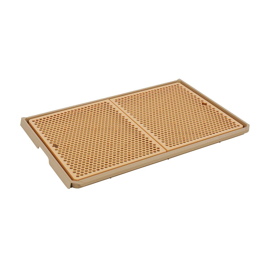 요기펫 반려견용 자이언트 요기 토일렛 660 x 450 x 35 mm, ORANGE, 1개
