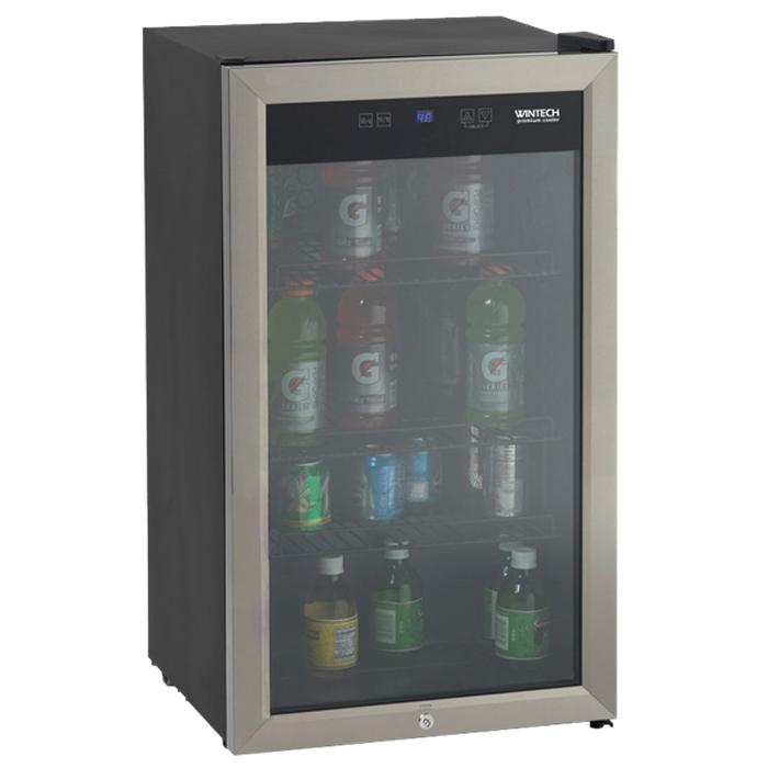윈텍 미니 쇼케이스 소형 냉장고 85L, BD-36B (POP 157216229)