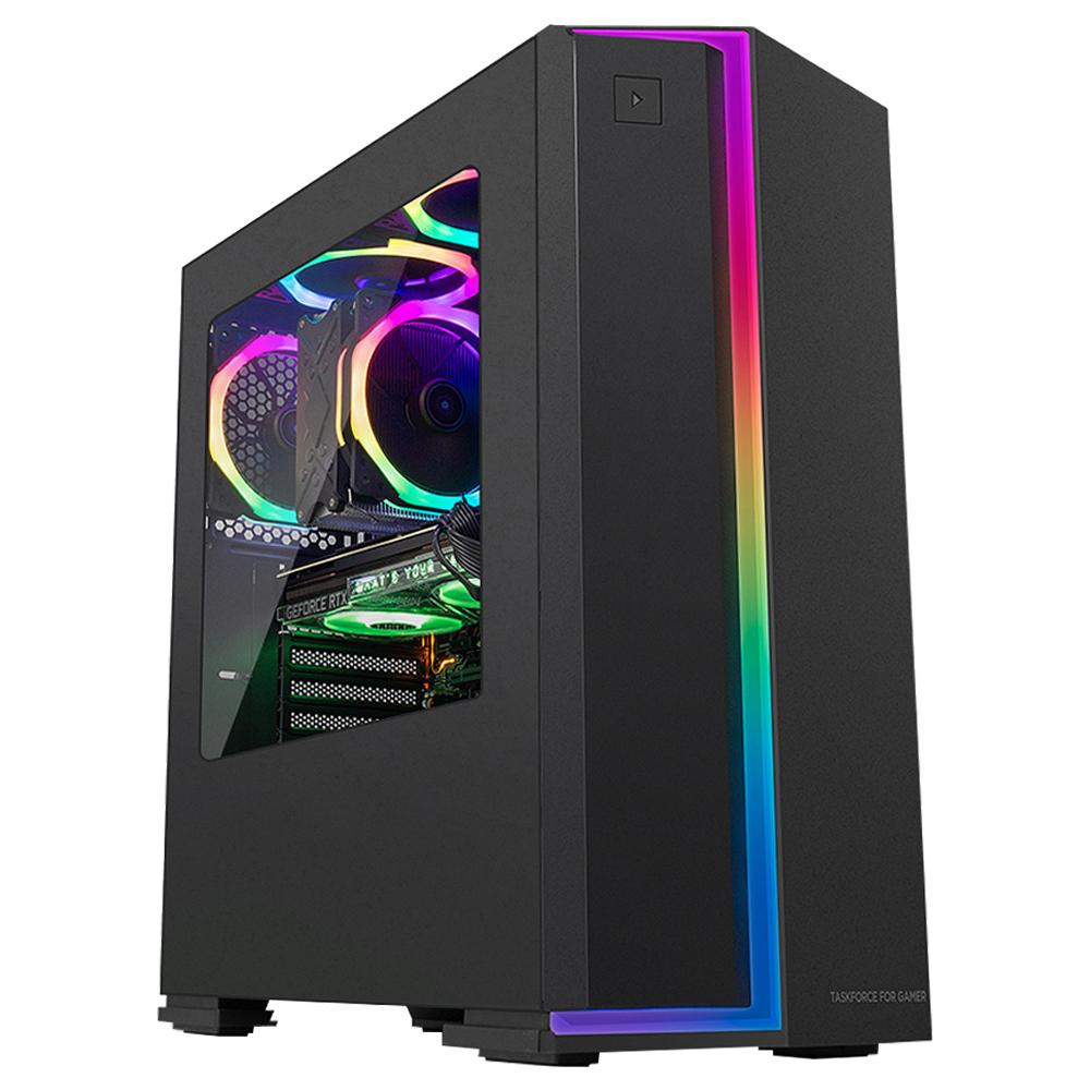 한성컴퓨터 데스크탑 TFG AX9728T(i7 9700K Win미포함 16GB NVMe SSD 256GB RTX2080 SUPER 정격 700W), AX9728T, 정격 700W
