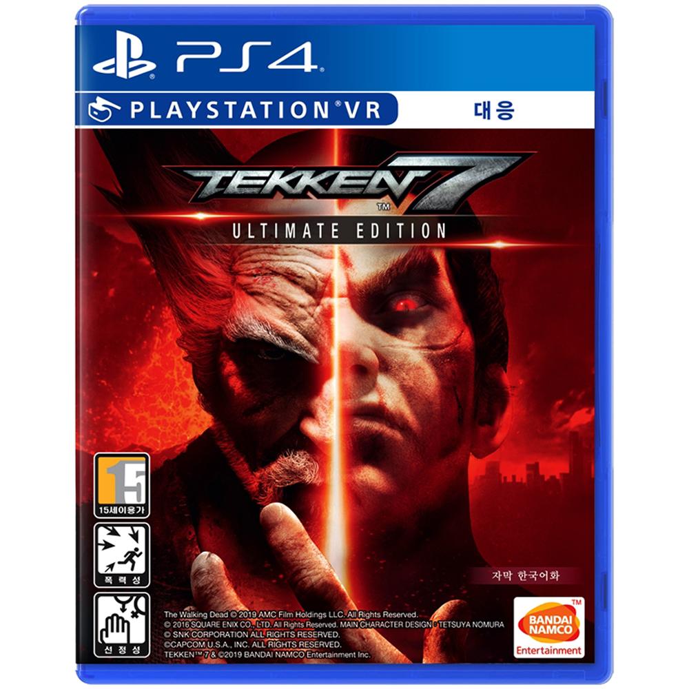 BNEK PS4 철권7 얼티밋 에디션 한글판 게임, 단일 상품