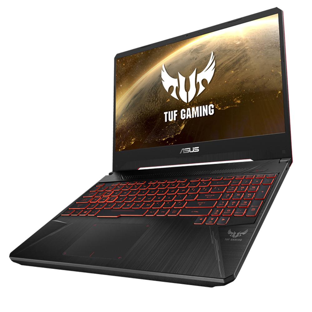 에이수스 TUF 노트북 FX505GM-BQ251 (i5-8300H 39.62cm SSD 256G GeForce GTX1060 6GB), 8GB, Free DOS, 블랙 + 레드