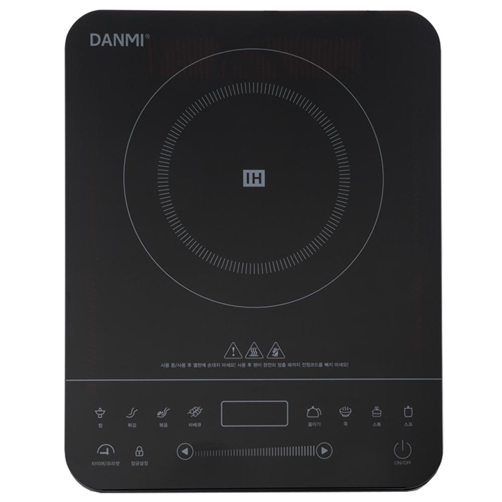 단미 인덕션 IH 전기레인지 1구, DA-IN01(심플 블랙), 기타