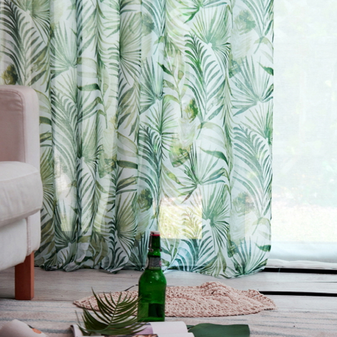 바자르 썸그린 커튼, 야자수잎