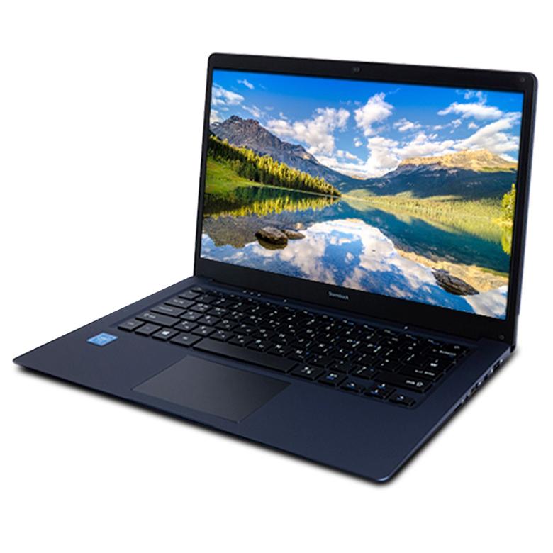 아이뮤즈 노트북 스톰북14S 32GB WIN10 (인텔 셀러론 35.8cm WIN10 4GB 32GB), StormBook14S, 메탈릭 블루