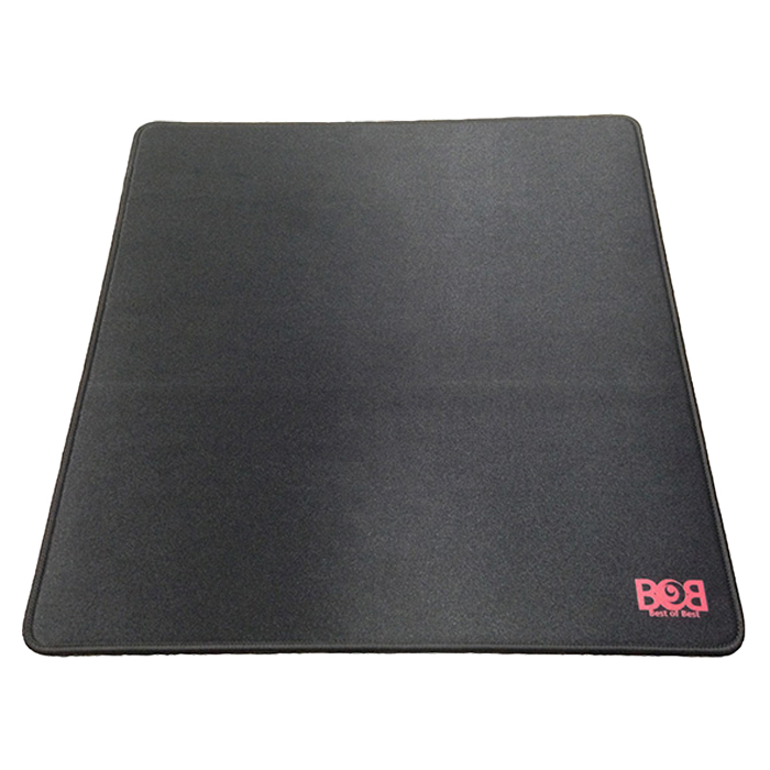 BOB패드 밸런스 오버로크 라지 마우스패드, 블랙, 1개-28-164256647