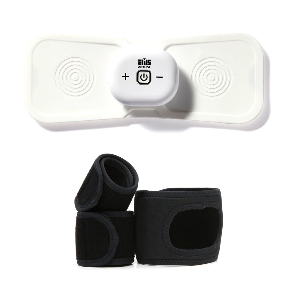 제스파 바디핏 액티브 EMS 무선 안마기 + 전용 홀딩벨트, 마사지기(ZP2131), 벨트(ZP1100)