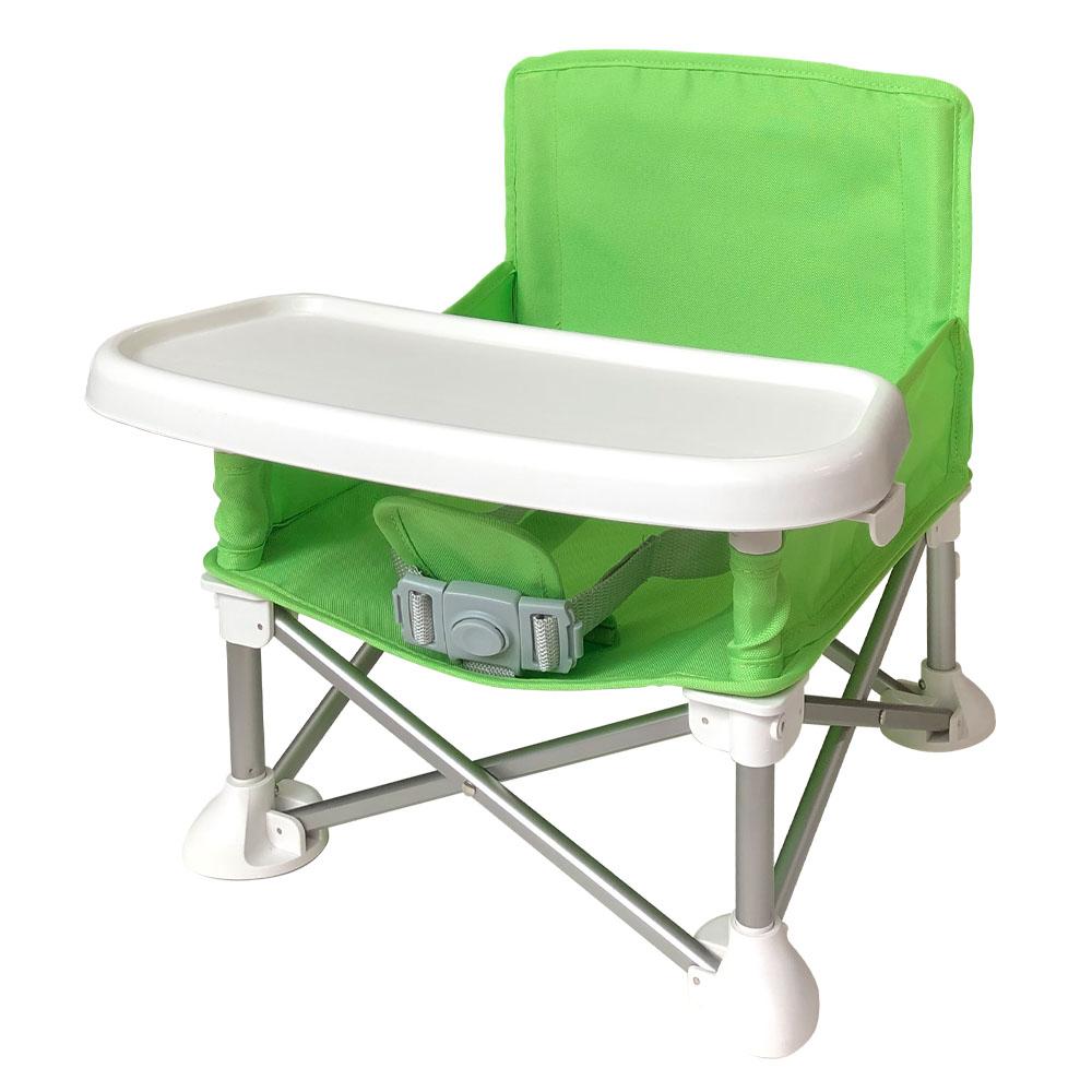 아가플러스 eos휴대용 부스터 유아식탁의자 + 휴대용 가방, 회색