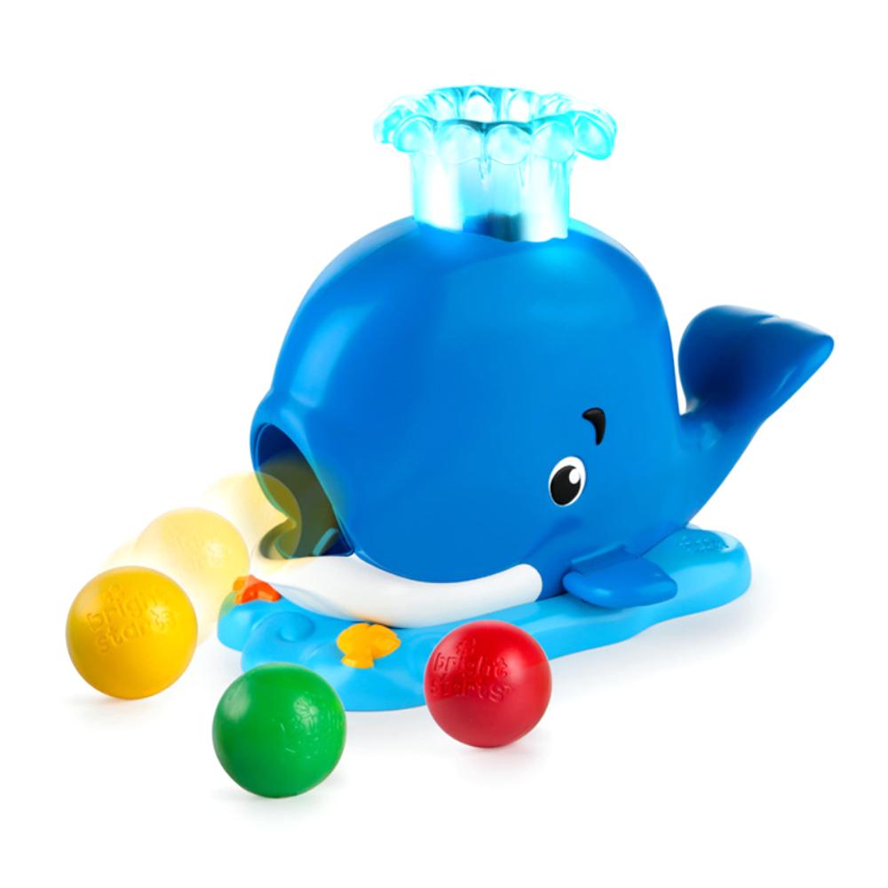 브라이트스타트 공놀이 고래 촉감발달완구 10934, 혼합 색상