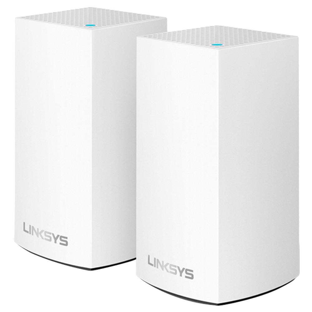링크시스 벨롭 메시 Wi-Fi 듀얼밴드 기가비트 와이파이 AC2600 유무선공유기 2p, WHW0102