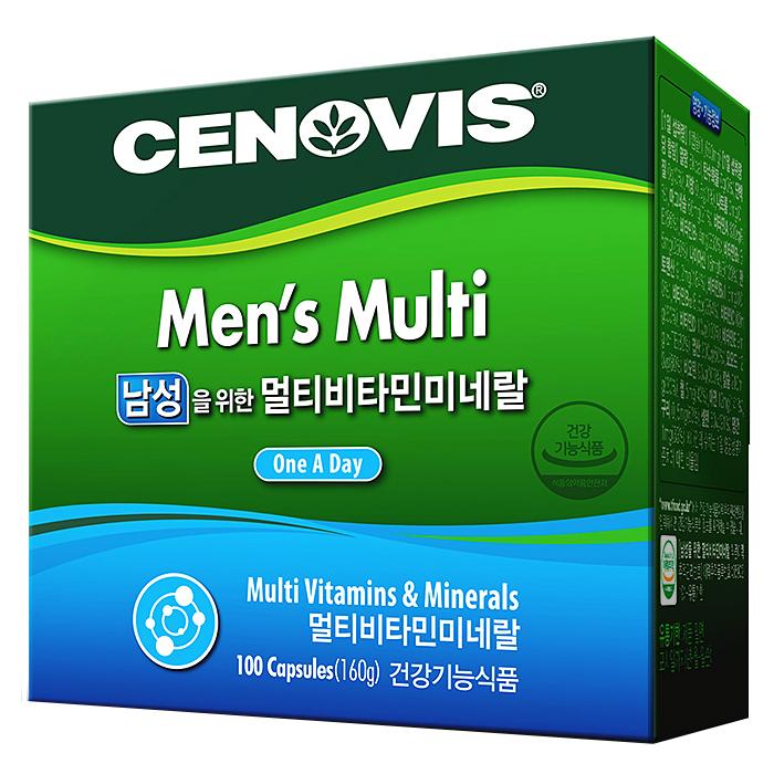 세노비스 남성 멀티 비타민 미네랄 160g 1개