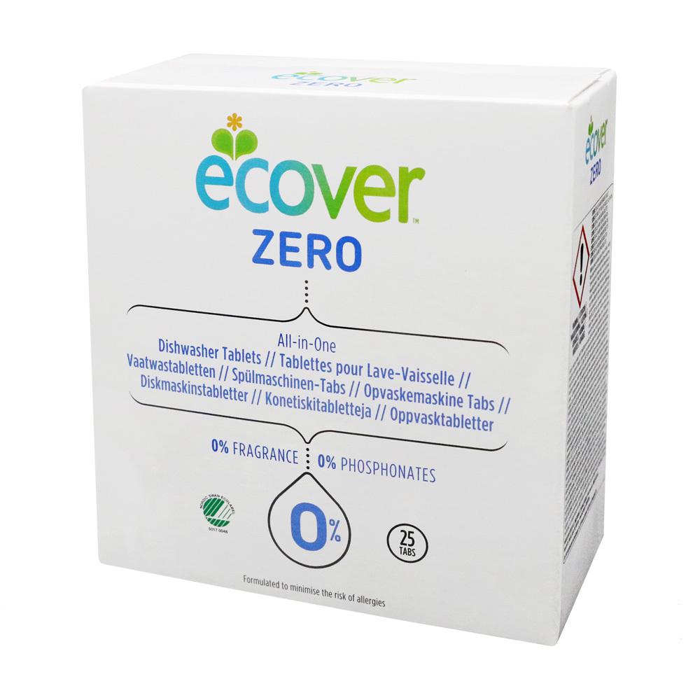 에코버 ZERO 식게세척기세제 타블렛, 20g, 25개입
