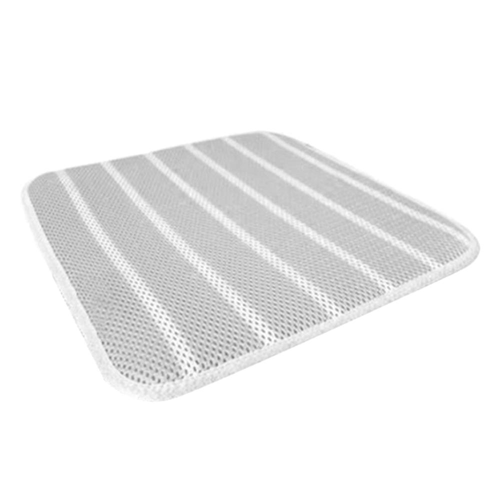 킨톤 3D 통풍 매쉬방석 3겹, 그레이, 1개